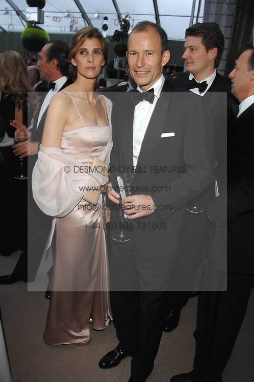 The PRINCE & PRINCESS OF PRESLAV at the Ark 2007 charity gala at Marlborough House, Pall Mall, London SW1 on 11th May 2007.<br /><br />NON EXCLUSIVE - WORLD RIGHTS