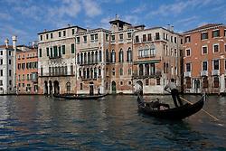 Venice 2007 - Gondolas on the Grand Canal...