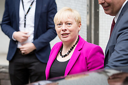 © Licensed to London News Pictures. 10/07/2016. London, UK. ANGELA EAGLE MP arriving at ITV Studios to speak on the Peston on Sunday show today (10 July 2016). Angela Eagle is expected to announce her bid for the leadership of the Labour party tomorrow. Photo credit : Tom Nicholson/LNP