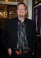 Penn Jillette at  the press night of the brand-new comedy Magic Goes Wrong. Vaudeville Theatre. London.,8th jan 2010