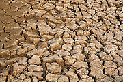 Very dry soil on farmland during the dry season in the Battambang region in Cambodia, South East Asia.  Cambodia has two seasons per year.  (photo by Andrew Aitchison / In pictures via Getty Images)