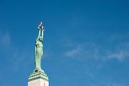 The Freedom Monument in Riga, Latvia © Rudolf Abraham