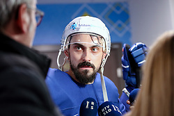 Klemen Pretnar at ice hockey practice one day before at IIHF World Championship DIV. I Group A Kazakhstan 2019, on April 28, 2019 in Barys Arena, Nur-Sultan, Kazakhstan. Photo by Matic Klansek Velej / Sportida