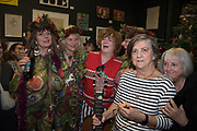 THE NEO NATURISTS AND THE RAINCOATS, RAINCOATS: RIGHT: GINA BIRCH, ANA DA SILVA, SHIRLEY O'LOUGHLINNeo Naturist Christmas event , Studio Voltaire Gallery shop, Cork St.   20 November 2019THE NEO NATURISTS AND THE