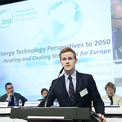 20150226 - Brussels - Belgium - 26 February 2015 -  Heating and cooling in the European energy  transition conference - Heat in the service of the EU energy transition  - John Dulac , Energy Analyst, International Energy Agency (IEA) Illustration picture © EC/CE - Patrick Mascart