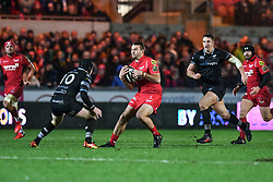 Scarlets' Paul Asquith in action during todays match - Mandatory by-line: Craig Thomas/Replay images - 26/12/2017 - RUGBY - Parc y Scarlets - Llanelli, Wales - Scarlets v Ospreys - Guinness Pro 14