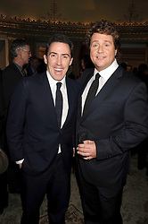 Left to right, ROB BRYDON and MICHAEL BALL at the 2009 South Bank Show Awards held at The Dorchester, Park Lane, London on 20th January 2009.