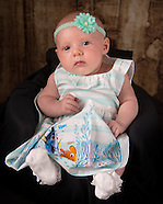 Baby Gracie-Mae's 1st Photoshoot