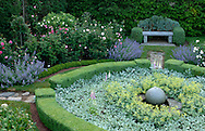 BOXWOOD PARTERRE AND ROSE GARDEN