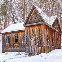 Rural winter landscape photography of the beautiful historic Hillside Chapel at The Concord School of Philosophy in Concord, Massachusetts.<br /> <br /> Massachusetts Hillside Chapel photography photos are available as museum quality photo, canvas, acrylic, wood or metal prints. Wall art prints may be framed and matted to the individual liking and interior design decoration needs:<br /> <br /> https://juergen-roth.pixels.com/featured/hillside-chapel-at-the-concord-school-of-philosophy-juergen-roth.html<br /> <br /> Good light and happy photo making!<br /> <br /> My best,<br /> <br /> Juergen