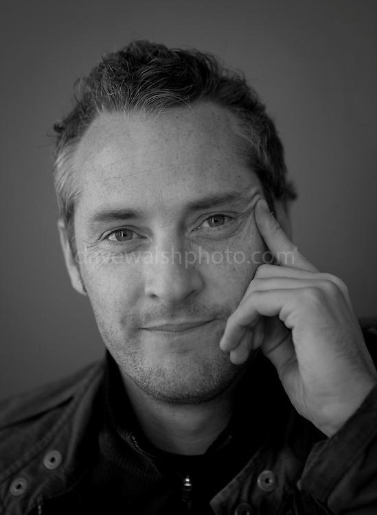 Damien Debarra, photographed in Villa Zeezicht Cafe, Singel, Amsterdam, 30 July 2011