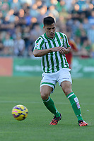 Betis player Bruno during the match between Real Betis and Recreativo de Huelva day 10 of the spanish Adelante League 2014-2015 014-2015 played at the Benito Villamarin stadium of Seville. (PHOTO: CARLOS BOUZA / BOUZA PRESS / ALTER PHOTOS)