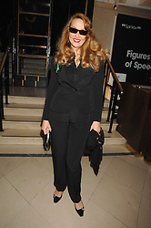 JERRY HALL at 'Figures of Speech' a fundraising gala dinner in aid of the ICA held at the Lawrence Hall, Greycoat Street, London on 27th February 2008.<br /><br />NON EXCLUSIVE - WORLD RIGHTS
