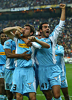 Milano 30-10-2004<br /> <br /> Campionato di calcio Serie A 2004-05<br /> <br /> Inter Lazio<br /> <br /> nella  foto Talamonti esulta dopo il gol del 1-1<br /> <br /> Leonardo Talamonti celebrates goal of 1-1<br /> <br /> Foto Snapshot / Graffiti