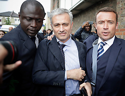 © Licensed to London News Pictures. 07/06/2016. Croydon, UK. Former Chelsea FC manager Jose Mourinho leaves Croydon Employment Tribunal where a settlement has been reached between Chelsea Football Club and the clubs former doctor Eva Carneiro over her unfair dismissal claim.. Photo credit: Peter Macdiarmid/LNP