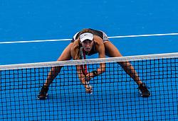 PORTOROZ, SLOVENIA - SEPTEMBER 18: Anna<br /> Kalinskaya and Tereza Mihalikova during the double finals of WTA 250 Zavarovalnica Sava Portoroz at SRC Marina, on September 19, 2021 in Portoroz / Portorose, Slovenia. Photo by Nik Moder / Sportida