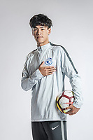 **EXCLUSIVE**Portrait of xxx of Dalian Yifang F.C. for the 2018 Chinese Football Association Super League, in Foshan city, south China's Guangdong province, 12 February 2018.