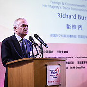 Speakers Richard Burn at China-UK United We Stand together to fights the #Covid19 at Guildhall, on 28th February 2020, London, UK.