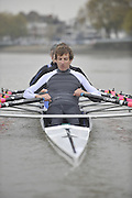 London, Great Britain, TSS. Men's H/W Quad,  stroke, Iztok COP. training on the River Thames Chiswick to Putney.  [Mandatory Credit. Peter Spurrier/Intersport Images]