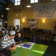 The First Tee of Monterey County opens the door to golf, as well as academic tutoring,  to many underprivileged kids of Salinas, CA, which is located only miles from the affluent golf haven, Pebble Beach.