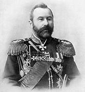 Alexei Nikolaievich Kuropatkin  (1848-1925) Russian soldier, Commander-in-Chief in Manchuria in Russo-Japanese War 1904-1905.