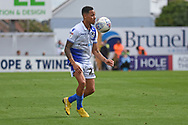 Kyle Bennett (23) of Bristol Rovers on the attack during the EFL Sky Bet League 1 match between Bristol Rovers and Plymouth Argyle at the Memorial Stadium, Bristol, England on 8 September 2018.