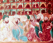 Scholars in the Abode of Wisdom, a science academy, Baghdad. 14th century manuscript.