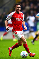 Fleetwood Town's Lewis Coyle in action<br /> <br /> Photographer Richard Martin-Roberts/CameraSport<br /> <br /> The EFL Sky Bet League One - Bolton Wanderers v Fleetwood Town - Saturday 2nd November 2019 - University of Bolton Stadium - Bolton<br /> <br /> World Copyright © 2019 CameraSport. All rights reserved. 43 Linden Ave. Countesthorpe. Leicester. England. LE8 5PG - Tel: +44 (0) 116 277 4147 - admin@camerasport.com - www.camerasport.com
