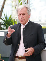Director Costa-Gavras, guest of honour for Cannes Classics at the  at the 68th Cannes Film Festival Monday May 18th 2015, Cannes, France.