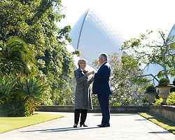 June 5, 2017 - Sydney, NSW, Australia - U.S. Secretary of State Rex Tillerson, right, during a bilateral chat with Australian Foreign Minister Julie Bishop during the Australia–U.S. Ministerial Consultations known as AUSMIN at NSW Government House June 5, 2017 in Sydney, Australia. (Credit Image: © State Department/Planet Pix via ZUMA Wire)