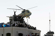 Arafat's funeral at the Muqata, the PA HQ in ramallah, west bank...Photo: Guilad Kahn.12.11.04