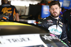 April 6, 2018 - Ft. Worth, Texas, United States of America - April 06, 2018 - Ft. Worth, Texas, USA: Ryan Truex (11) hangs out in the garage during practice for the My Bariatric Solutions 300 at Texas Motor Speedway in Ft. Worth, Texas. (Credit Image: © Chris Owens Asp Inc/ASP via ZUMA Wire)
