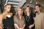 Paris Hilton, Kathy Hilton, Step Up Women's Network Managing Director Angie Grabski, and host Nicky Hilton