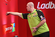 Michael van Gerwen during the Ladrokes UK Open 2019 at Butlins Minehead, Minehead, United Kingdom on 1 March 2019.
