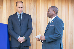 The Duke of Cambridge during a visit to Centrepoint in Barnsley.