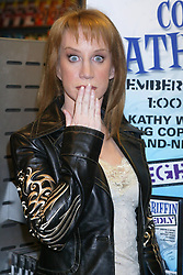 Nov 30, 2004; New York, NY, USA; Comedian KATHY GRIFFIN promotes her new DVD 'Kathy Griffin: Allegedly' held at Suncoast ast the Manhattan Mall..  (Credit Image: Nancy Kaszerman/ZUMAPRESS.com)