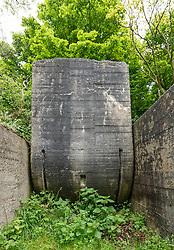 Atlantikwall, Festung IJmuiden, IJmuiden,Walzkörpersperre, Netherlands