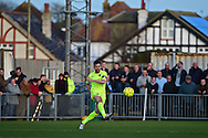 Havant & Waterlooville Brian Stock (4) during the Ryman Premier League match between Bognor Regis Town and Havant & Waterlooville FC at Nyewood Lane, Bognor, United Kingdom on 26 December 2016. Photo by Jon Bromley.