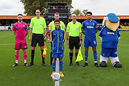 Mascot during the EFL Sky Bet League 1 match between AFC Wimbledon and Rochdale at the Cherry Red Records Stadium, Kingston, England on 5 October 2019.