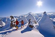 Snow Covered Magic in Fairyland, Cappadocia, Turkey