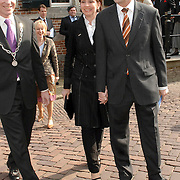 NLD/Naarden/20070406 - Mattheus Passion 2007, premier Jan Peter Balkenende en partner Bianca Hoogendijk
