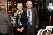 VIRGINIA BOTTOMLEY; PETER BOTTOMLEY, Relish: My Life on a Plate by Prue Leith. Hatchards. Piccadilly, London. 14 March 2012.