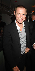 TOM CONRAN at a dinner in aid of Eve Appeal, Gynaecology Cancer research Fund held at Nobu, The Metropolitan Hotel, Park Lane, London on 3rd September 2007.<br /><br />NON EXCLUSIVE - WORLD RIGHTS
