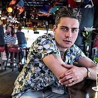 Nederland, Amsterdam, 13 april 2016.<br /> Douwe Bob, geboren als Douwe Bob Posthuma, is een Nederlands singer-songwriter. Hij won in augustus 2012 de eerste editie van de door Giel Beelen bedachte talentenjacht op televisie, De beste singer-songwriter van Nederland.<br /> Douwe bob vertegenwoordigd het Eurovisie Songfestival 2016 in Stockholm met het liedje slow down<br /> <br /> <br /> Foto: Jean-Pierre Jans