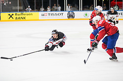 Mike Matheson of Canada during the 2017 IIHF Men's World Championship group B Ice hockey match between National Teams of Canada and Norway, on May 15, 2017 in AccorHotels Arena in Paris, France. Photo by Vid Ponikvar / Sportida