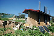 Israel, Ecological farm, Orgamic toilet. The waste is recycled into compost