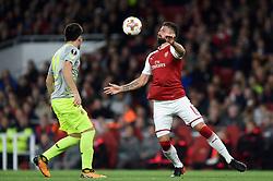 Olivier Giroud of Arsenal - Mandatory by-line: Patrick Khachfe/JMP - 14/09/2017 - FOOTBALL - Emirates Stadium - London, England - Arsenal v Cologne - UEFA Europa League Group stage