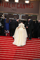 Fan Bingbing climbing the red steps at the gala screening of Jeune & Jolie at the 2013 Cannes Film Festival 16th May 2013