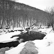 The Saco River descends from the top of Crawford Notch, NH