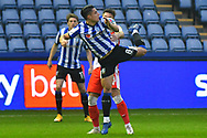Joey Pelupessy, Ryan Leonard during the EFL Sky Bet Championship match between Sheffield Wednesday and Millwall at Hillsborough, Sheffield, England on 7 November 2020.